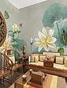ταπετσαρία / Τοιχογραφία Καμβάς Κάλυψης τοίχων - κόλλα που απαιτείται Φλοράλ / Μοτίβο / 3D