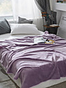 Bed Blankets, Solid Colored Polyester Thicken Blankets