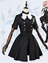 Inspirado por Re: Zero - Comenzando la vida en otro mundo Astolfo Anime Disfraces de cosplay Trajes Cosplay Lazo Manga Corta Panuelo / Vestido / Calcetines Para Mujer