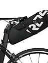 ROSWHEEL 10 L Bike Saddle Bag Reflective Rain Waterproof Waterproof Zipper Bike Bag Polyester Bicycle Bag Cycle Bag Cycling Bike / Bicycle