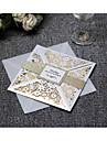Piegato da un lato Inviti di nozze 20 - Invito Cards Artistico Carta pura