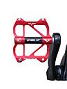 Wheel up Hegyi kerékpár-pedálok Pedálok Tartós Könnyű felhelyezés Zárt csapágy Alumínium ötvözet mert Kerékpározás Treking bicikli Mountain bike BMX Piros
