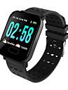 A6 Άντρες Έξυπνο ρολόι Android iOS Bluetooth Smart Αθλητικά Αδιάβροχη Συσκευή Παρακολούθησης Καρδιακού Παλμού Μεγάλη Αναμονή Βηματόμετρο Παρακολούθηση Ύπνου καθιστική υπενθύμιση Χρονογράφος Ημερολόγιο