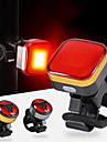 LED Kerékpár világítás Kerékpár hátsó lámpa Hegyi biciklizés Kerékpározás Vízálló Hordozható Tartós Rechargeable Li-Ion Battery 120 lm Narancssárga Kempingezés / Túrázás / Barlangászat Mindennapokra
