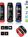 Heren Digitaal horloge Digitaal Rubber Zwart / Blauw / Rood 30 m Waterbestendig Kalender LCD Digitaal Informeel Modieus - Zwart Donkerblauw Rood