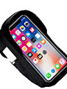 Sac de telephone portable / Sac Cadre Velo 19.5*9.5*1.5 pouce Cyclisme pour Cyclisme Noir