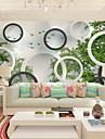 ταπετσαρία / Τοιχογραφία Καμβάς Κάλυψης τοίχων - κόλλα που απαιτείται Γεωμετρικό / Art Deco / Δένδρα / φύλλα