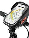 Bolso del telefono celular / Bolsa para Cuadro de Bici 6.2 pulgada Ciclismo para Ciclismo Negro