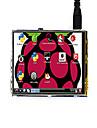 320 × 480, 3,5-calowy ekran dotykowy lcd tft lcd zaprojektowany dla raspberry pi 3 model b / b +, waveshare