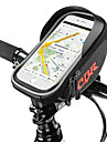 Cell Phone Bag / Bike Frame Bag Top Tube 6.2 inch Cycling for Cycling Black