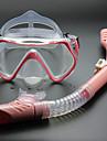 Snorklepakker Dykning Pakker - Dykning Maske snorkel - Anti-dug Dry top Svømning Dykning Silikone  Til Voksen Børn