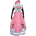 Inspired by Black Butler Ciel Phantomhive Anime Cosplay Costumes Cosplay Suits Dresses Patchwork Sleeveless Dress Gloves Bow More