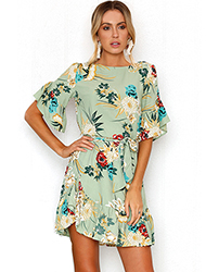 Floral Patterns Dresses